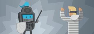 Credit card reader defending against credit card thief