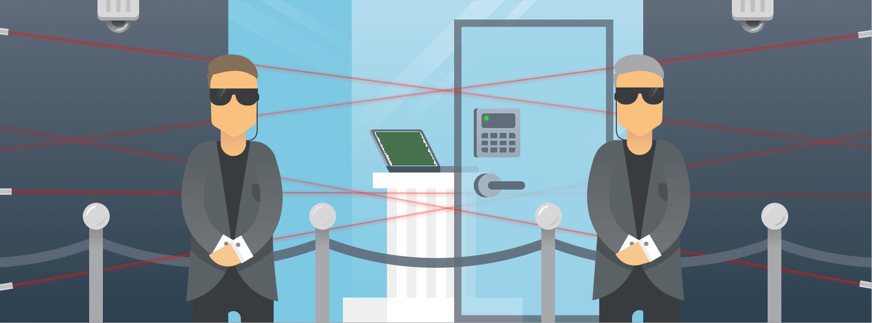 PCI compliant password scope