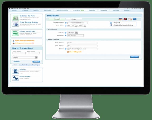 virtual terminal merchant services